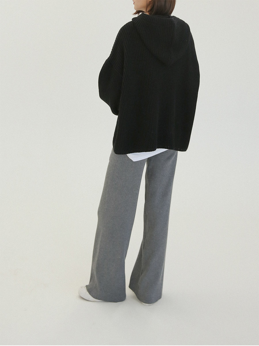 Daily wide knit pants
