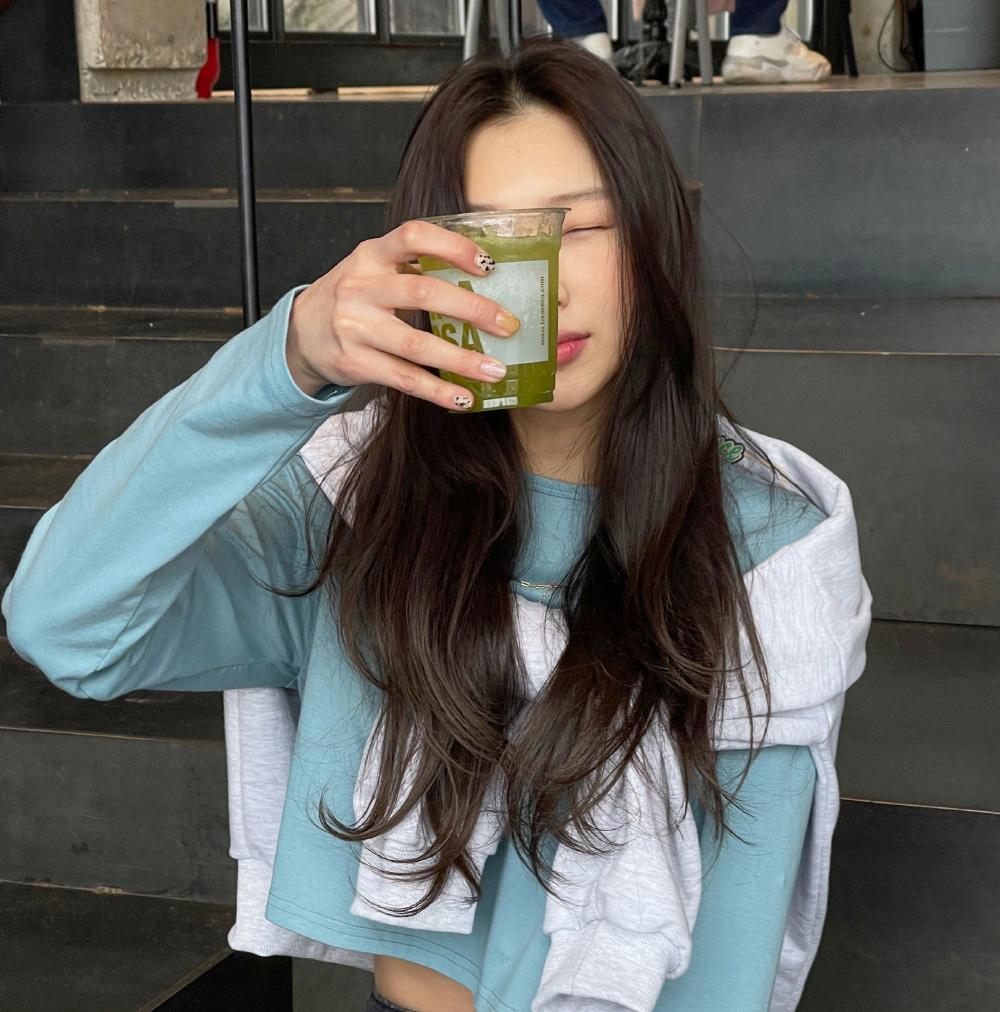 Moment Semi-Crop Cotton Tea