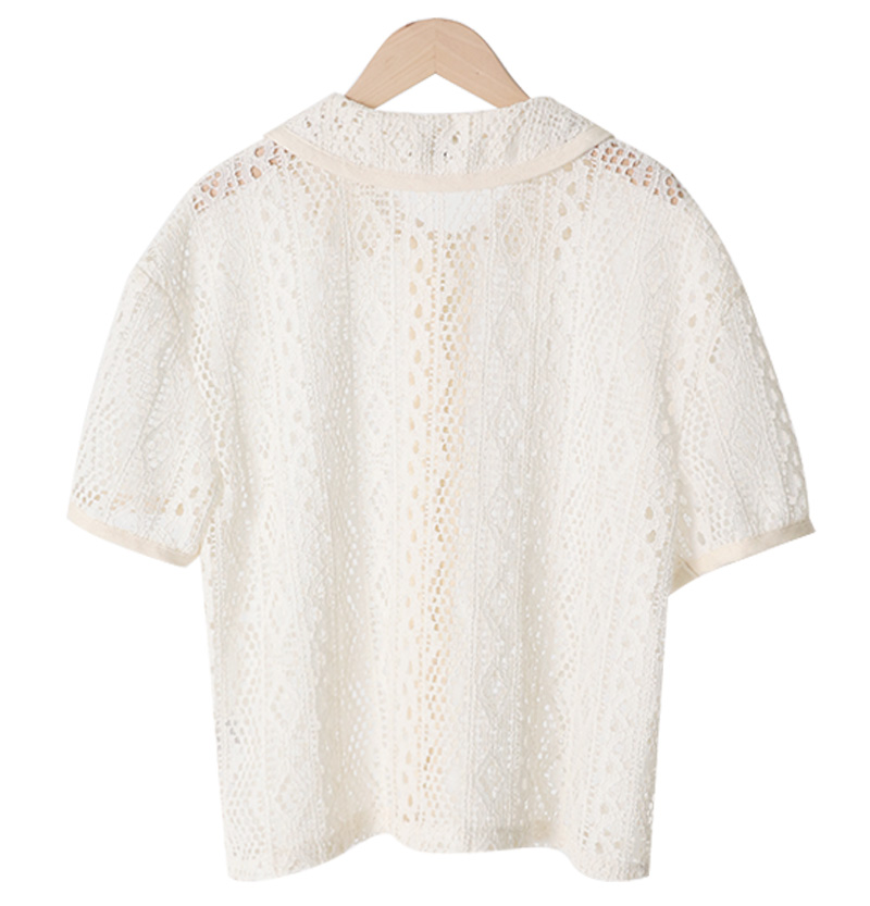 Crochet Half Carablouse