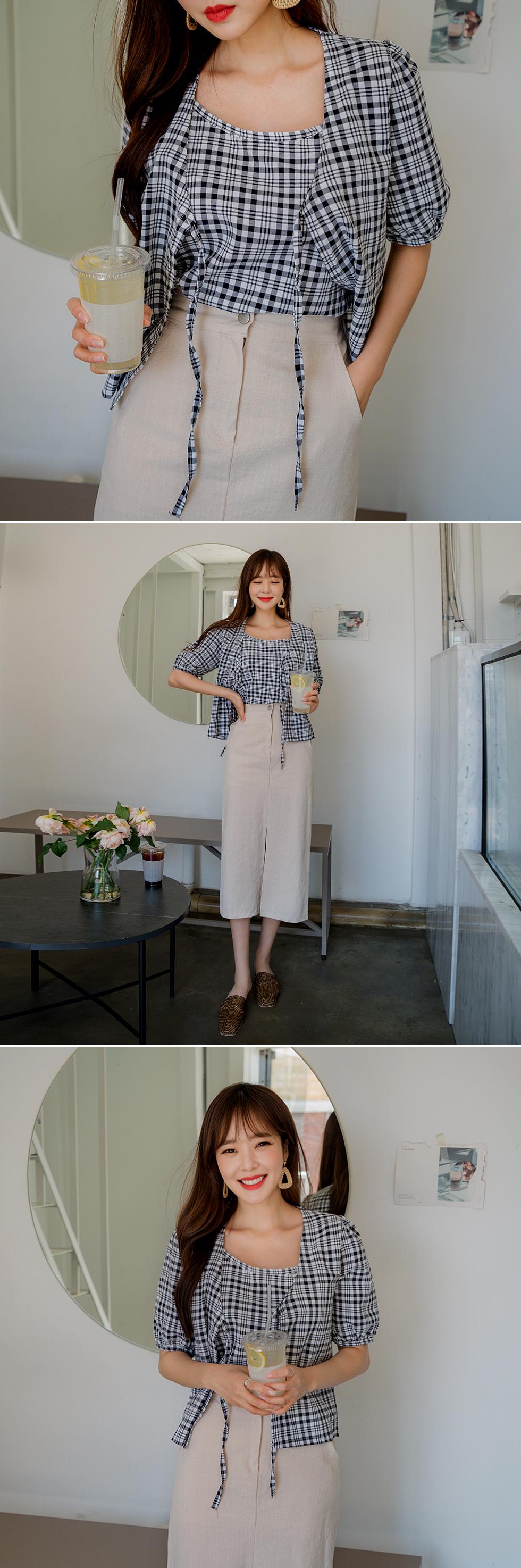 Dumpling Cotton Long Skirt