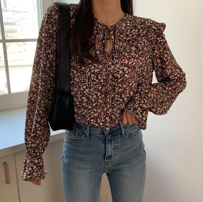 Shasha floral blouse