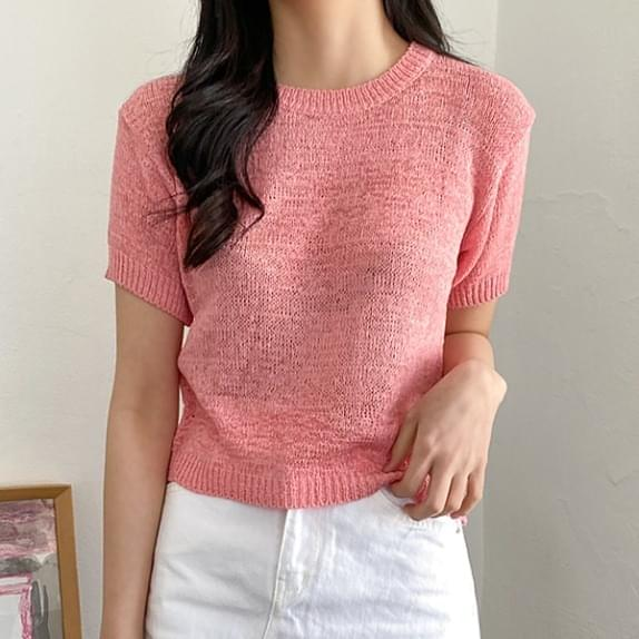 Ice Cream Short Sleeve Knitwear