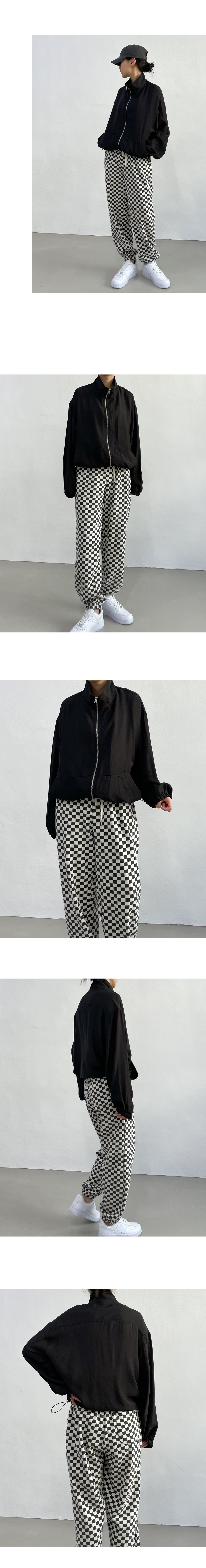 Loose-fit satin string Jacket