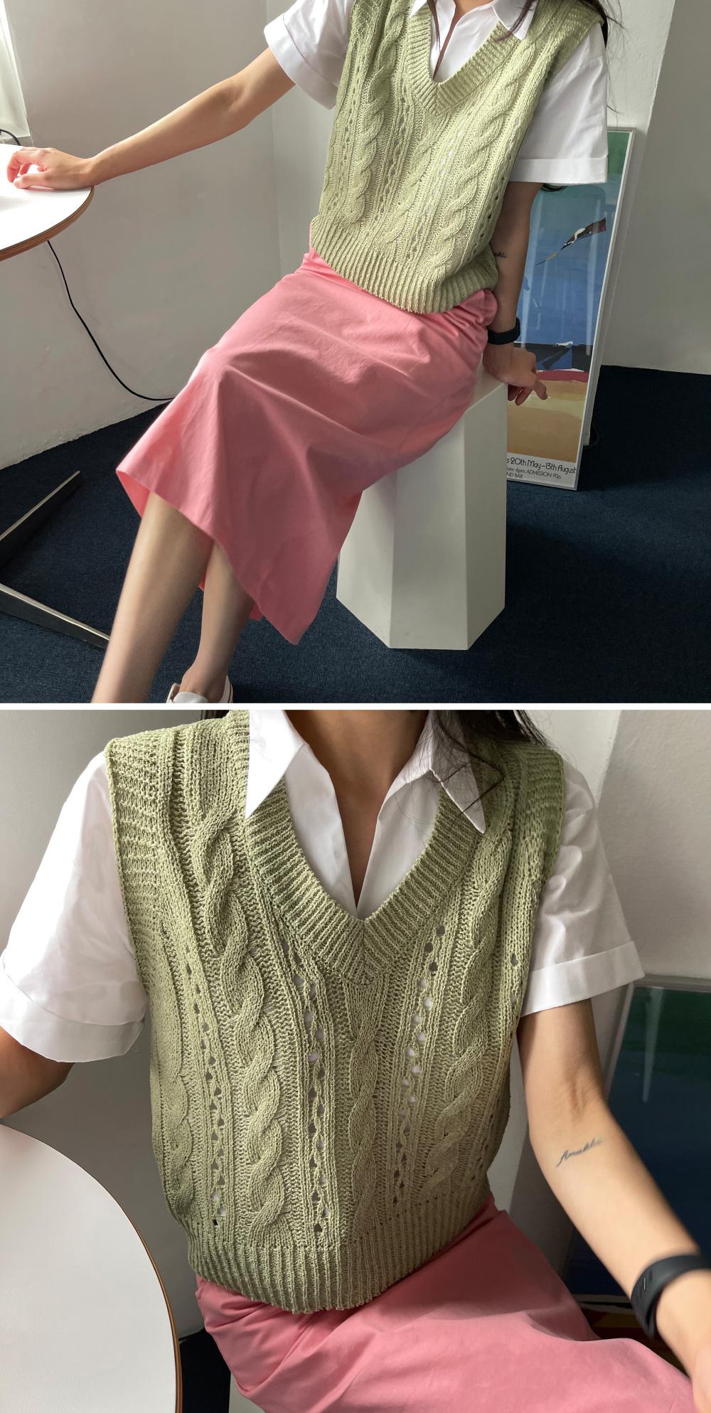 Miyu Semi Crop Open Shirt