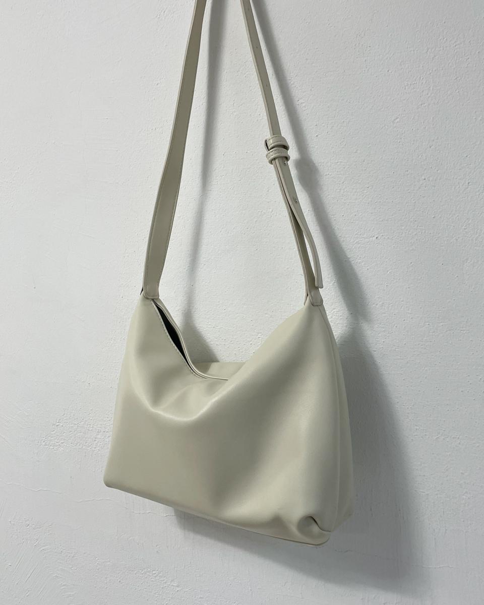 Canceled square shoulder cross-body bag