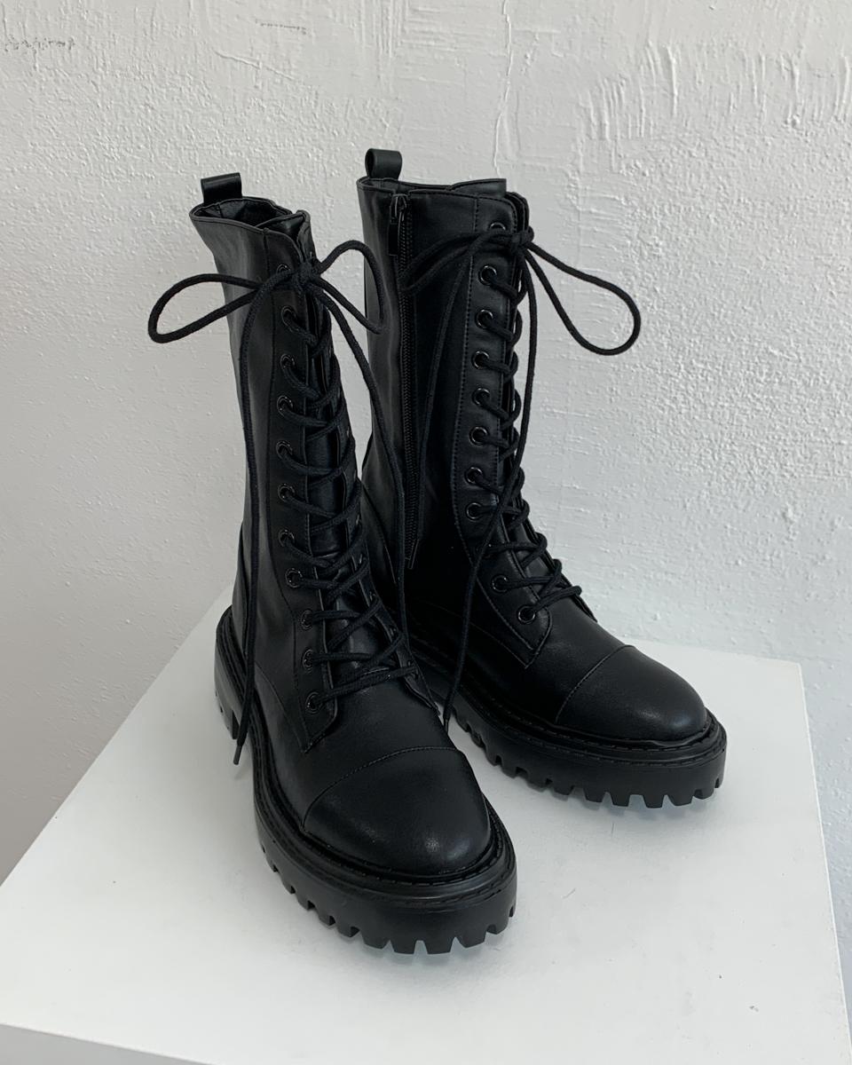 Aude Middle lace-up walker boots