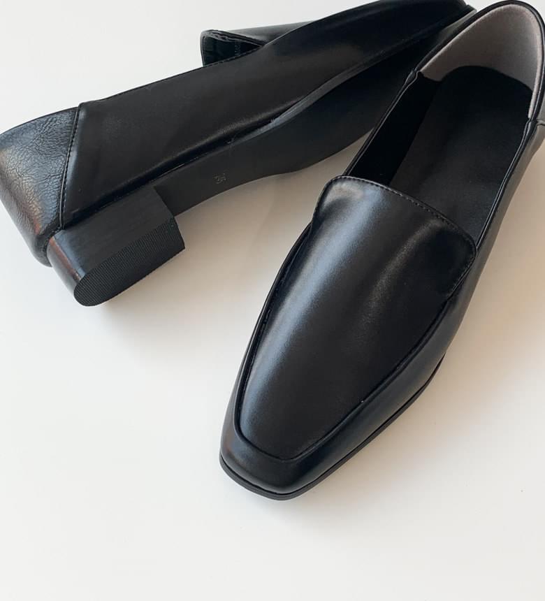 韓國空運 - Mannish piping loafers 樂福鞋