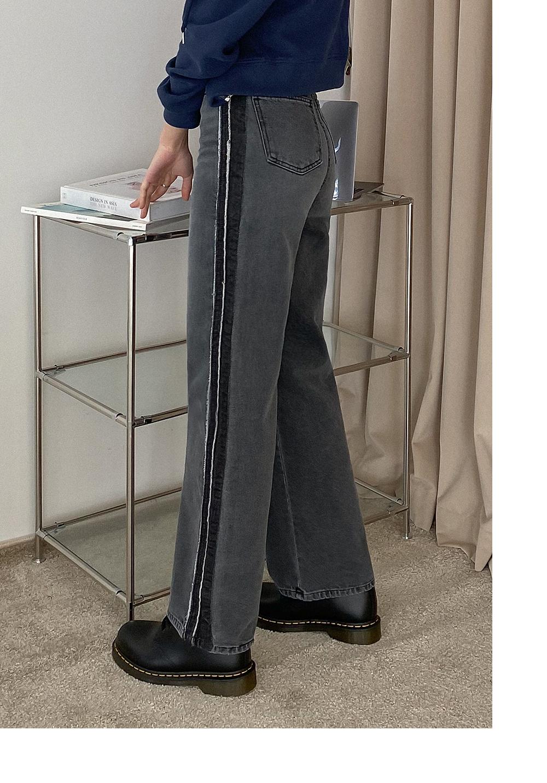 Ababa Vintage Line Wide Denim Pants