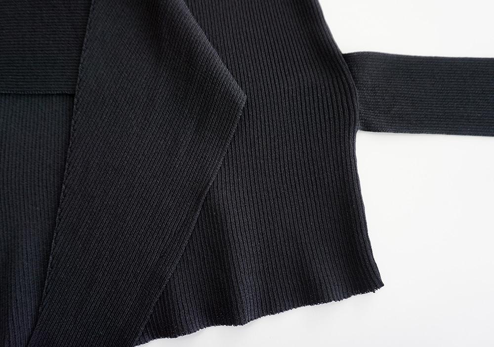 Ringo wrap strap knit