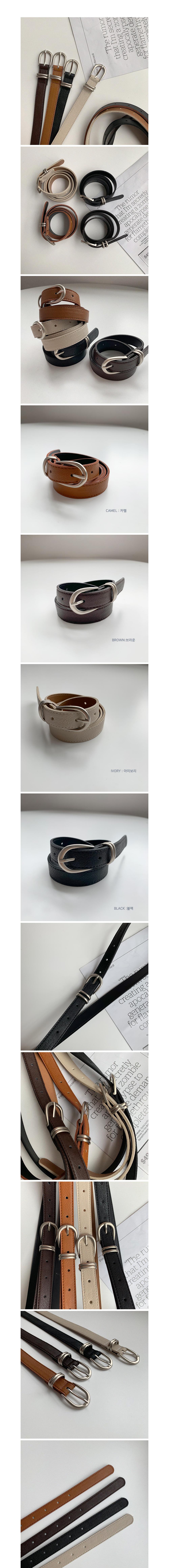 Metal double belt