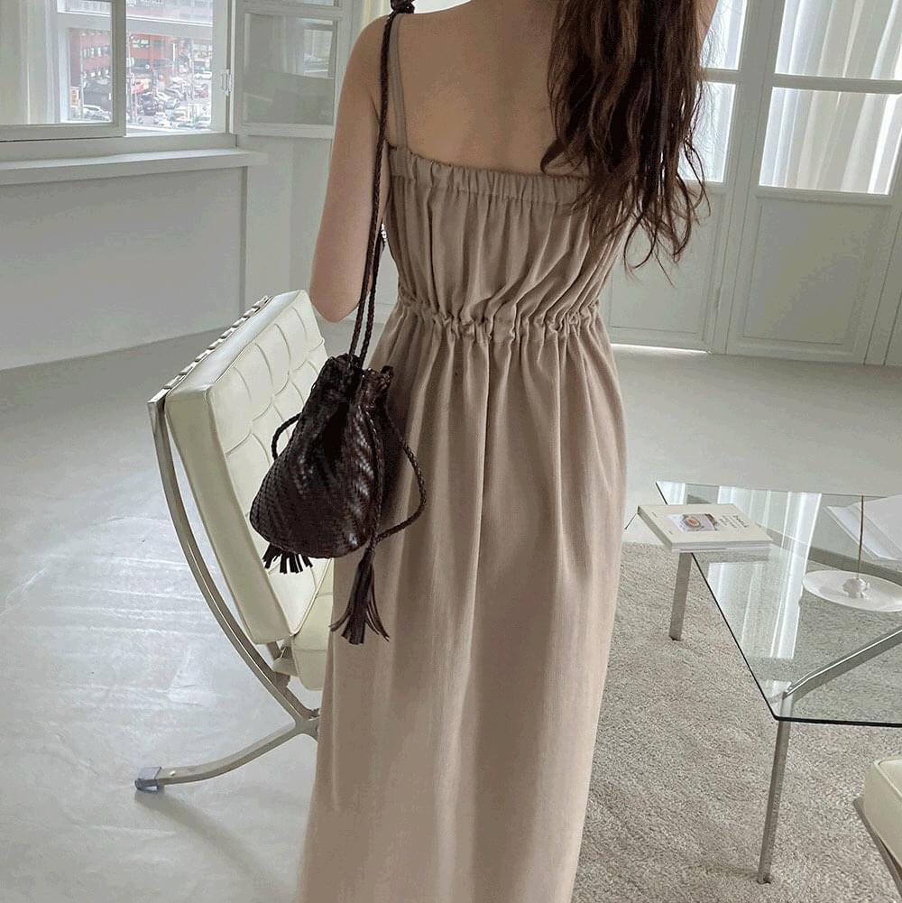 Martini String Bustier Long Dress