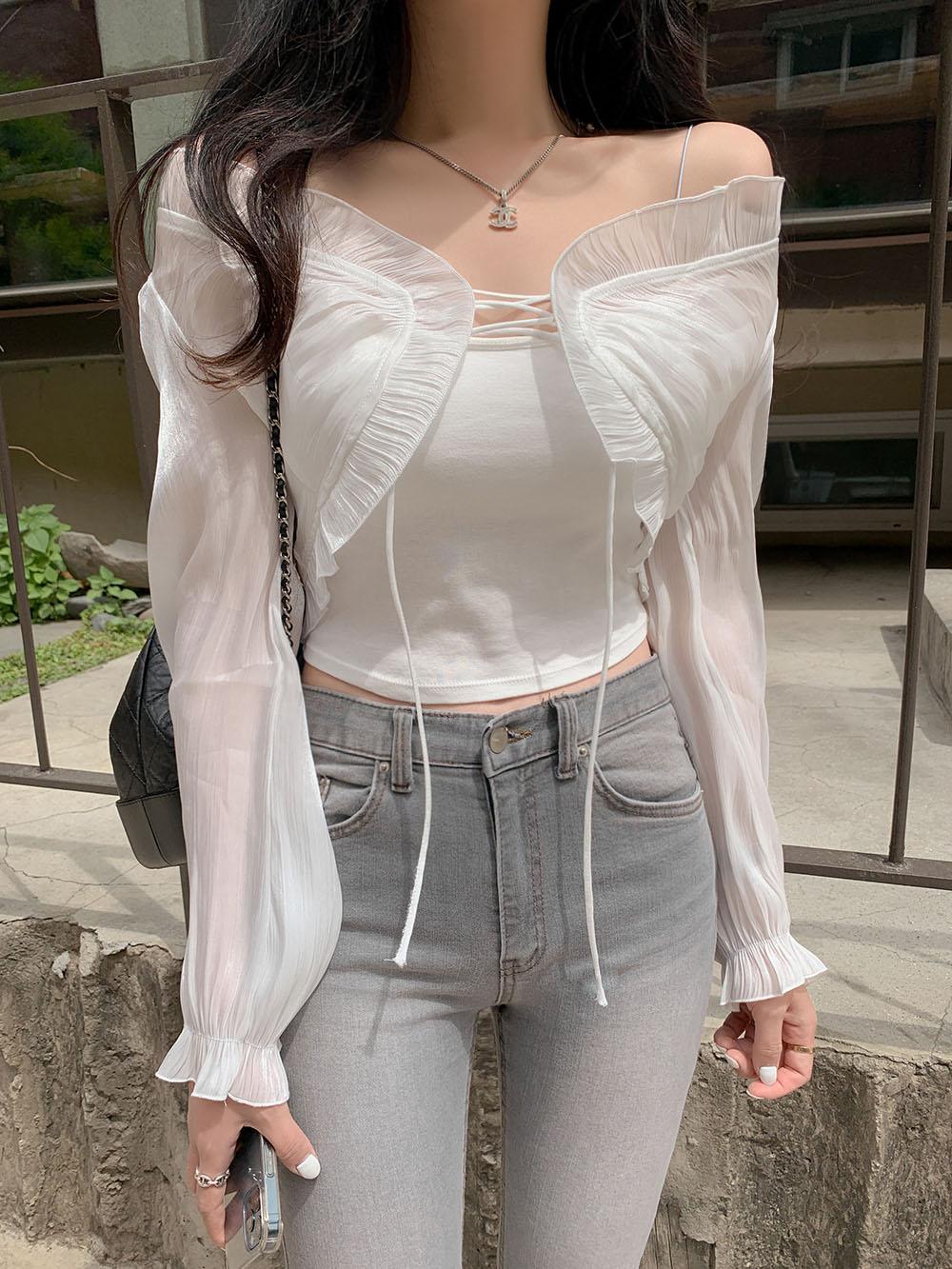 Mini Maple Ribbon cardigan