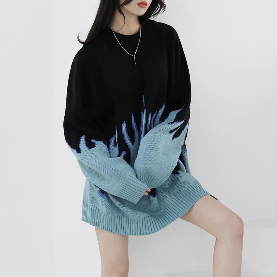 Blaze Round Boxy Knitwear