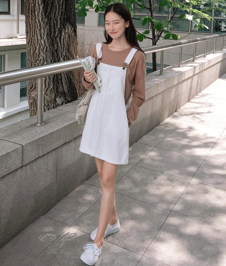 ESSAYDenim Overall Dress