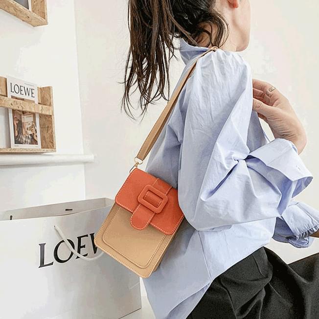 Big Buckle Pastel Mini Shoulder Bag