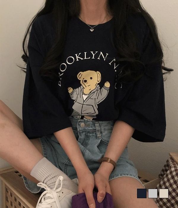 NWC Bear Overfit Short Sleeve T-Shirt