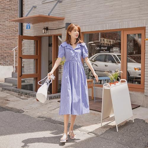Heidi color check Dress