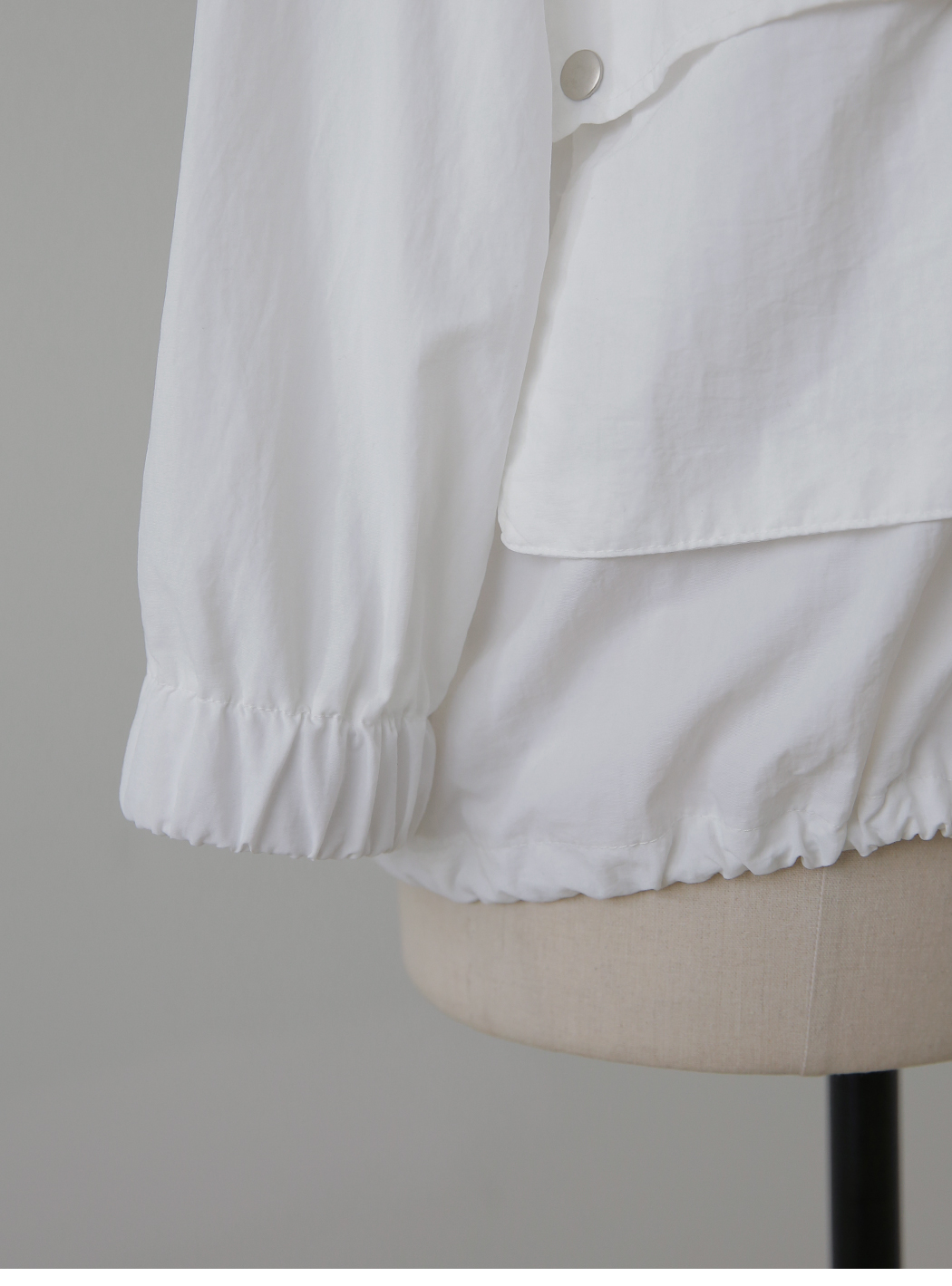 Pocket string windbreaker summer Jacket