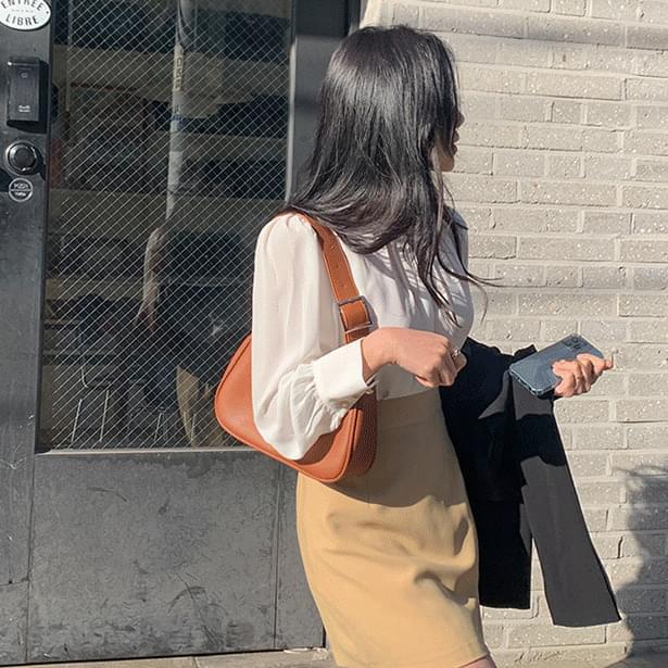 Belt strap shoulder bag