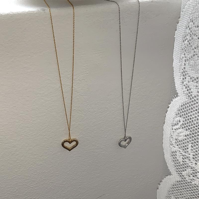 Heart for u necklace