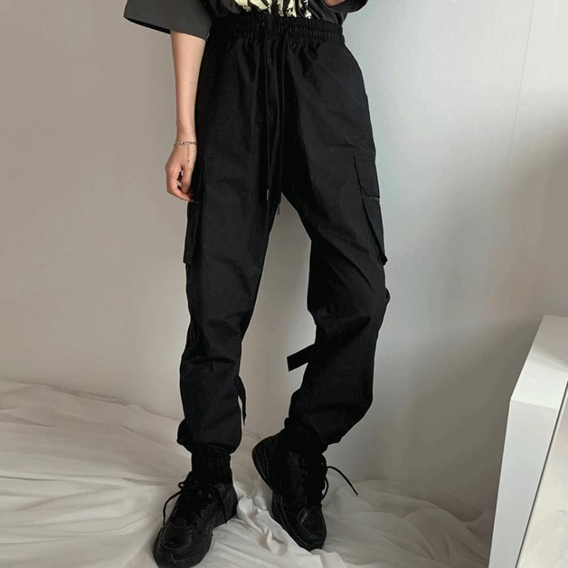 Glam tech jogger trousers