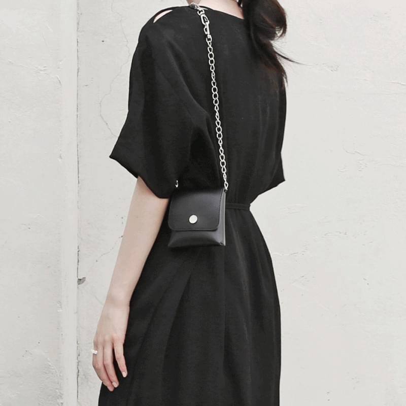 Drawing chain keyring mini bag 肩背包