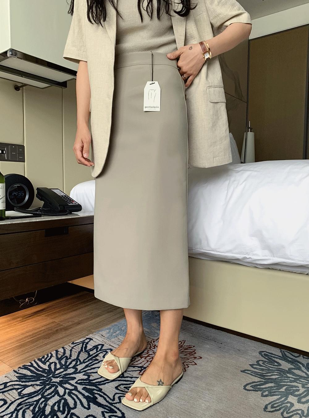 GENTLE SLACKS SKIRT/ver.Summer Legging Slack Skirt
