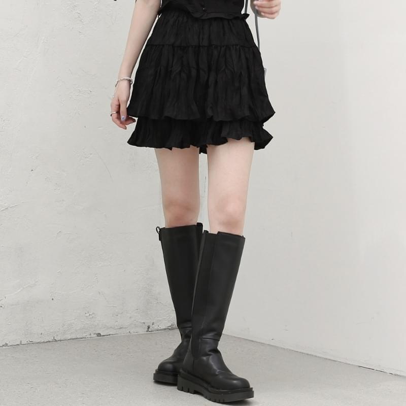Cheek Cancan Mini Skirt 裙子