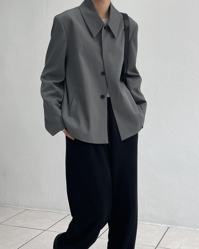 Kara Hidden Single Overfit Short Jacket