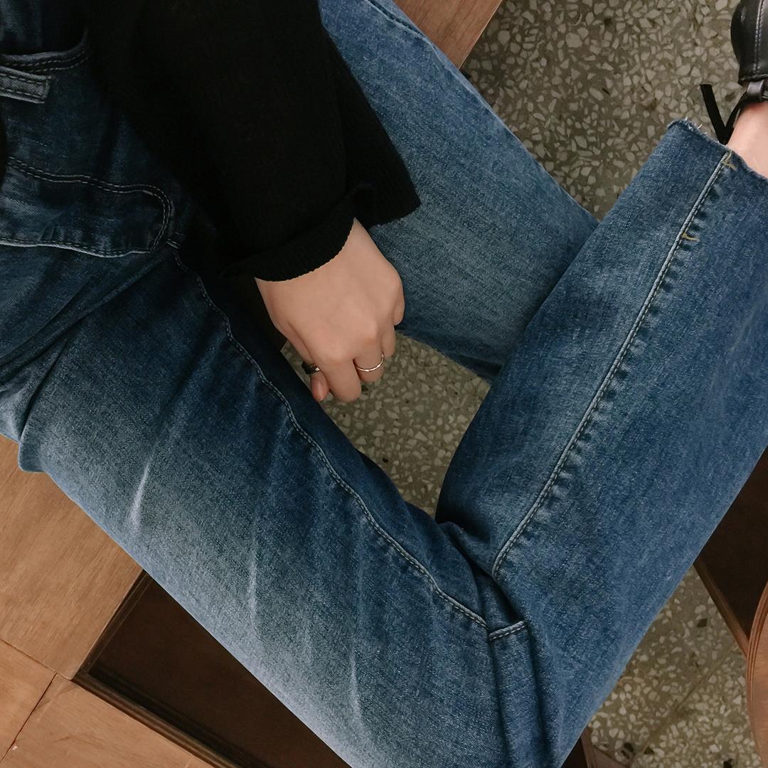 ESSAYWhisker Washed Bootcut Denim Pants
