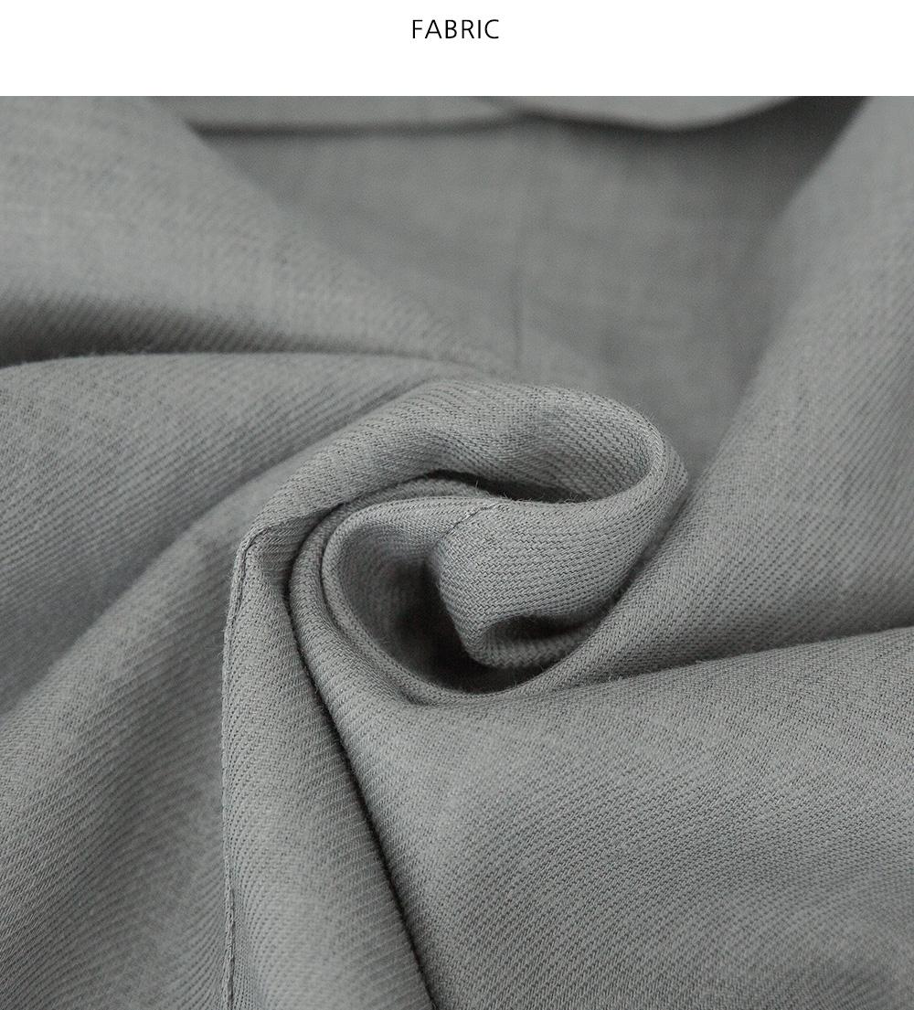Mannish V-Neck linen vest