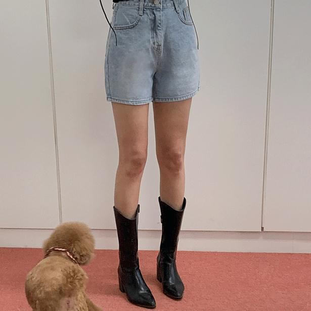 Wonder Denim Short pants 短褲