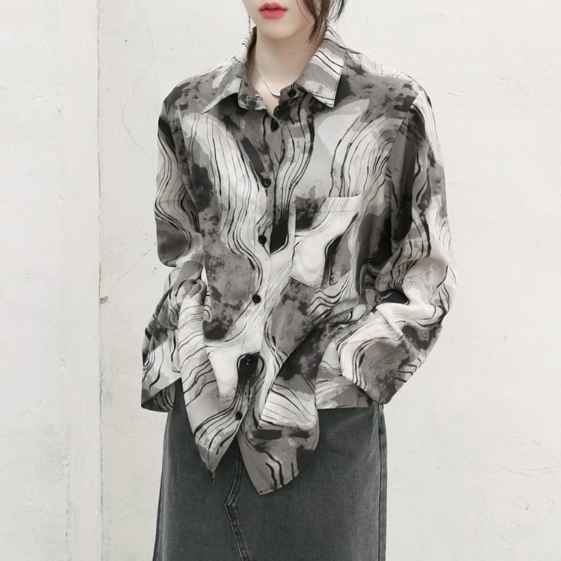 rican ethnic pattern shirt 襯衫