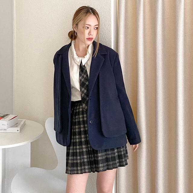 Bono quilted cape school jacket