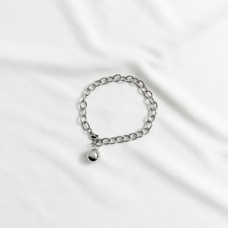 Peeling circle chain bracelet 手鐲