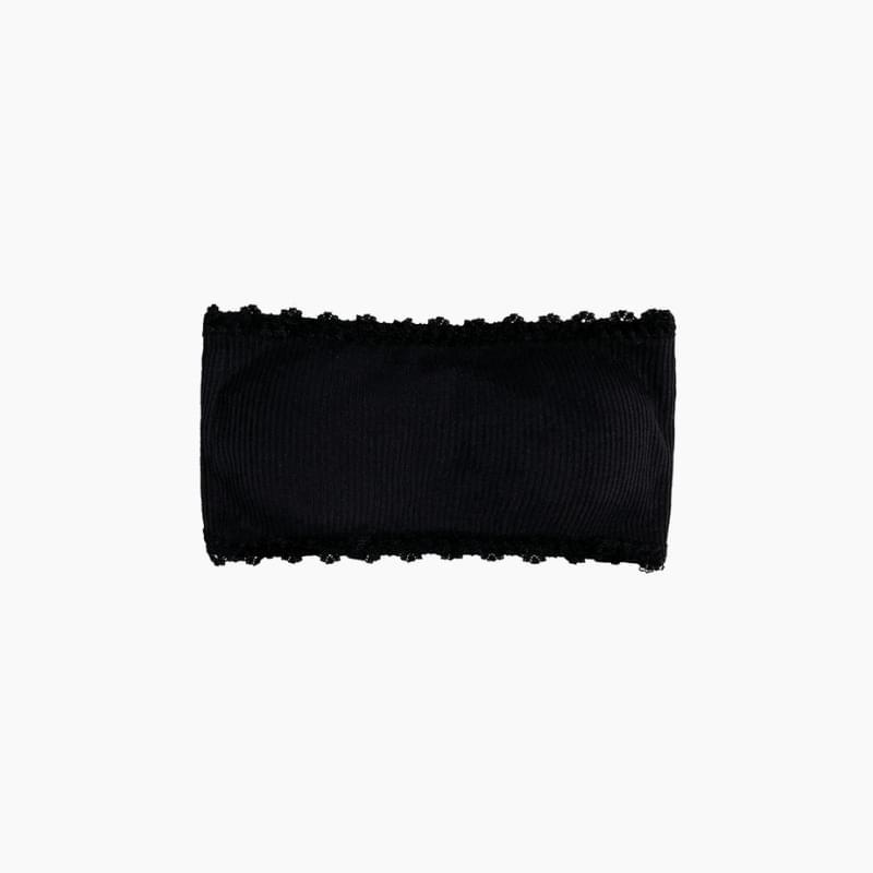 Lace buckle bra top