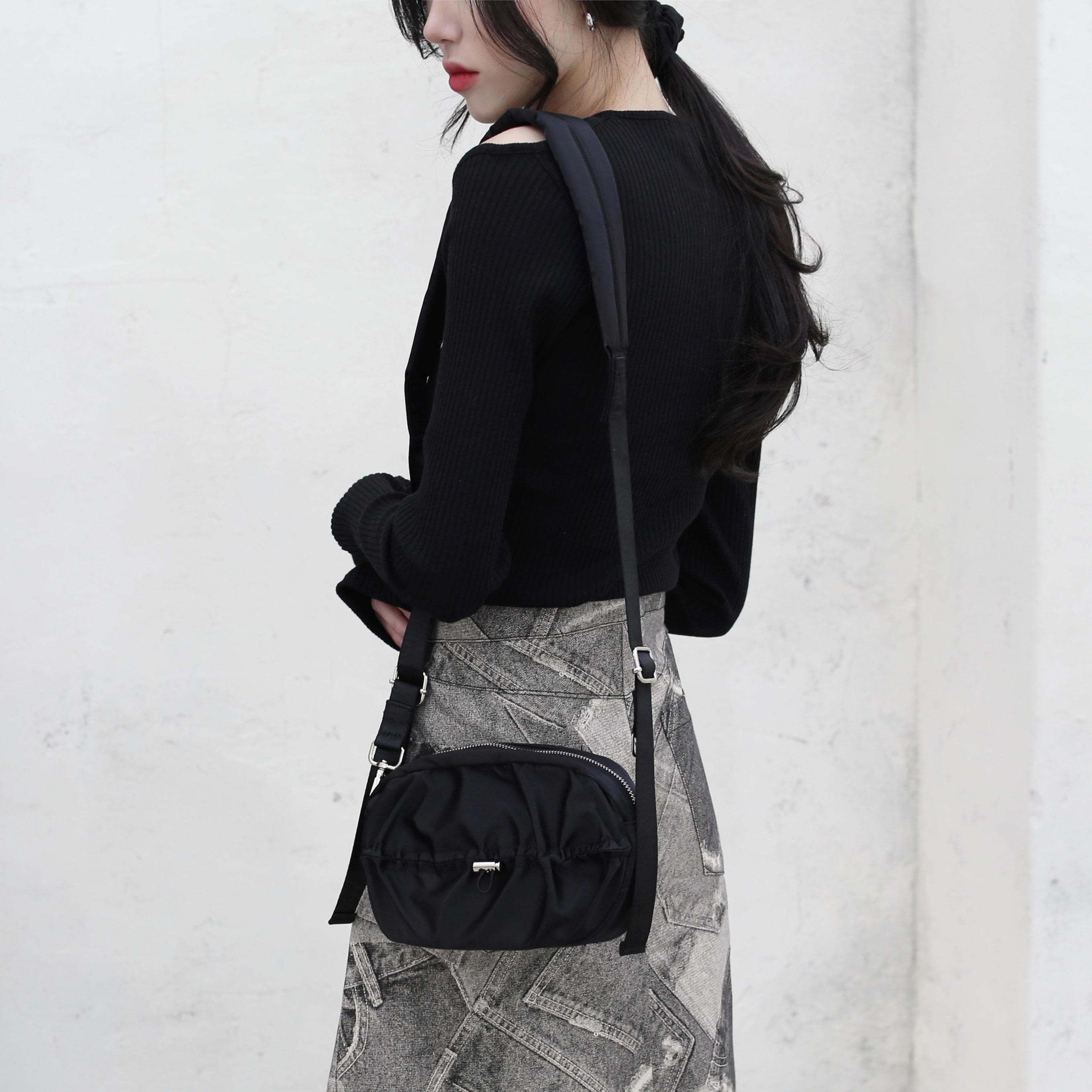 Birdie string shoulder bag