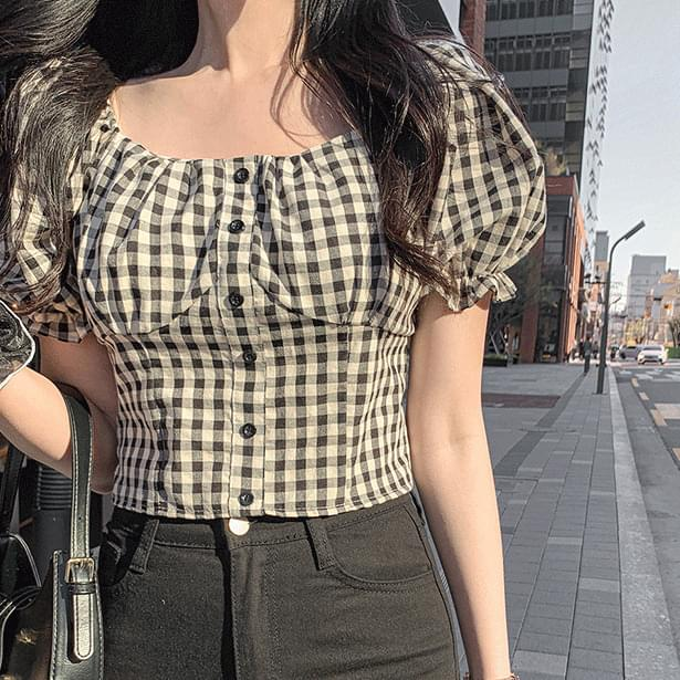 Romance check-off blouse (Delayed delivery)