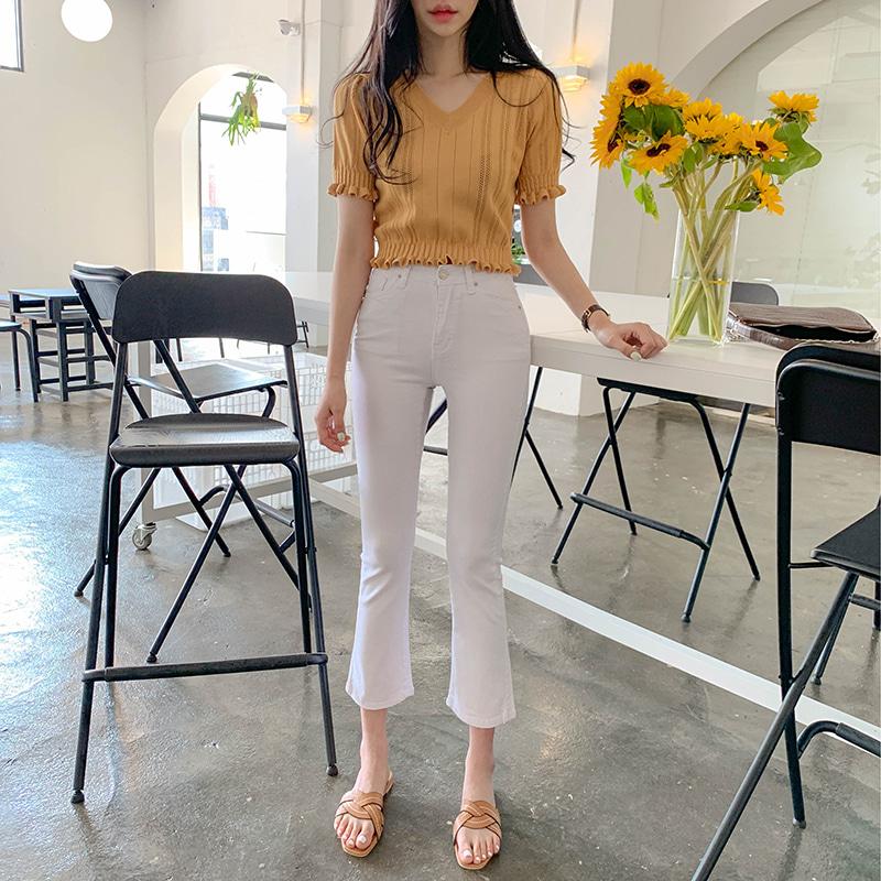 Luna Priel Crop Knitwear t *cumulative