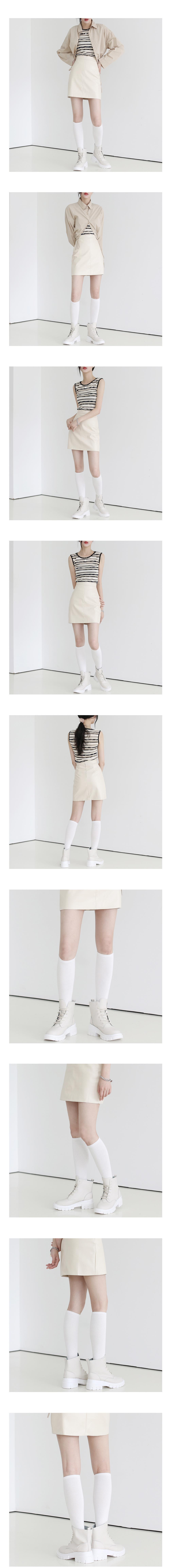 White long Socks