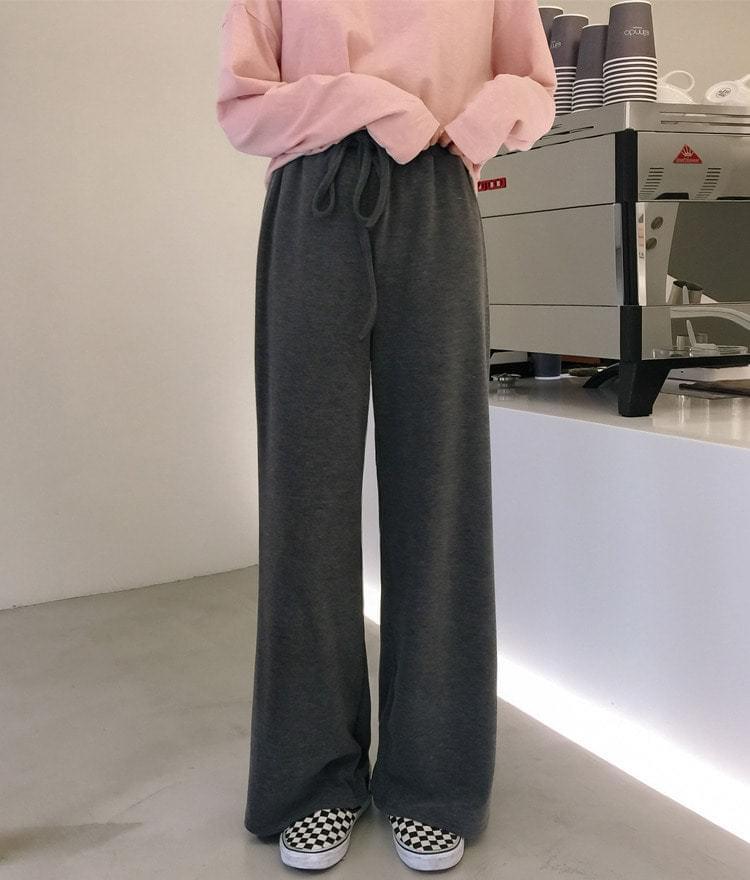 Daily knit pants