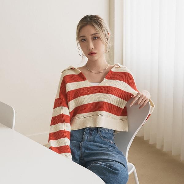 Melo Cara striped knit