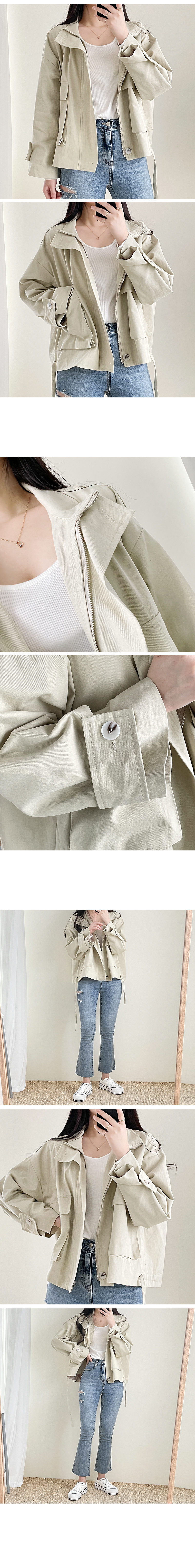 String Pocket Night Box Jacket