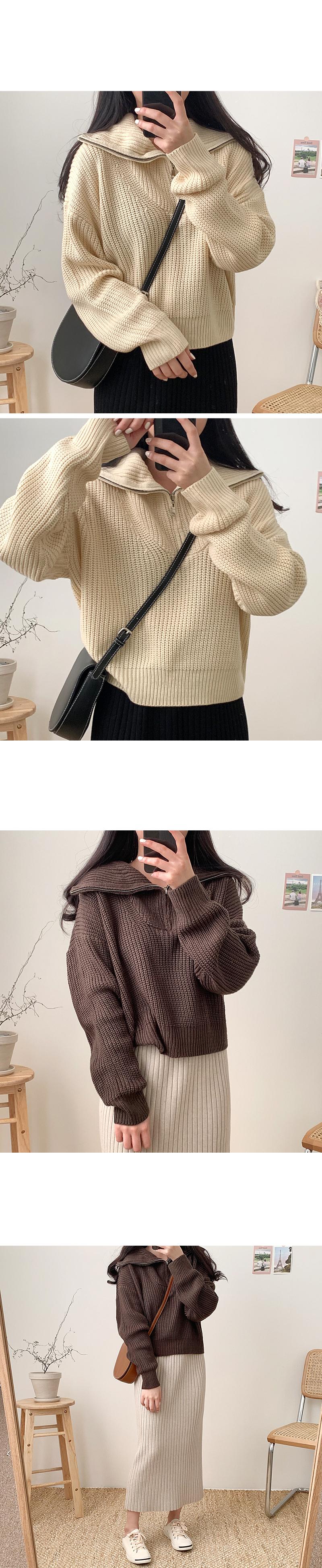 Eddie Anorak Knitwear