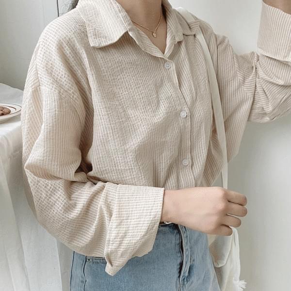 Humming striped shirt