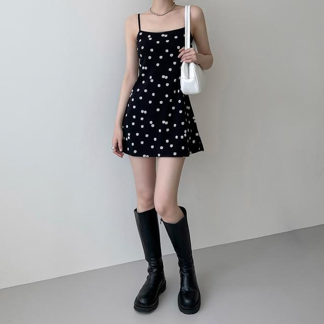 Dendri Flower Bustier Mini Dress 迷你短洋裝