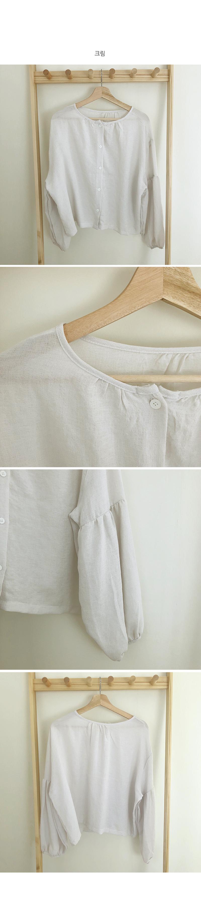 Yojo natural blouse
