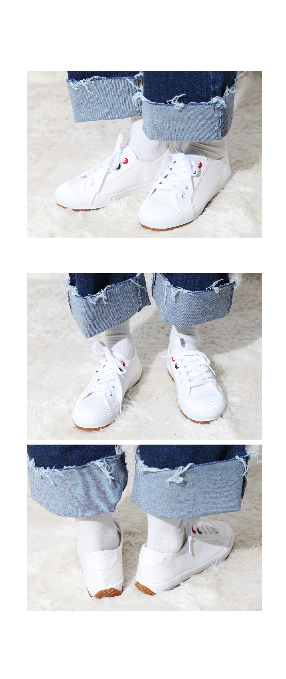 Star color sneakers