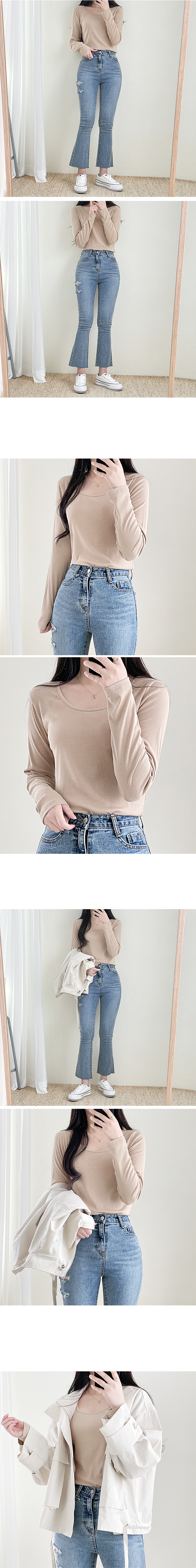 Layer Ribbed T