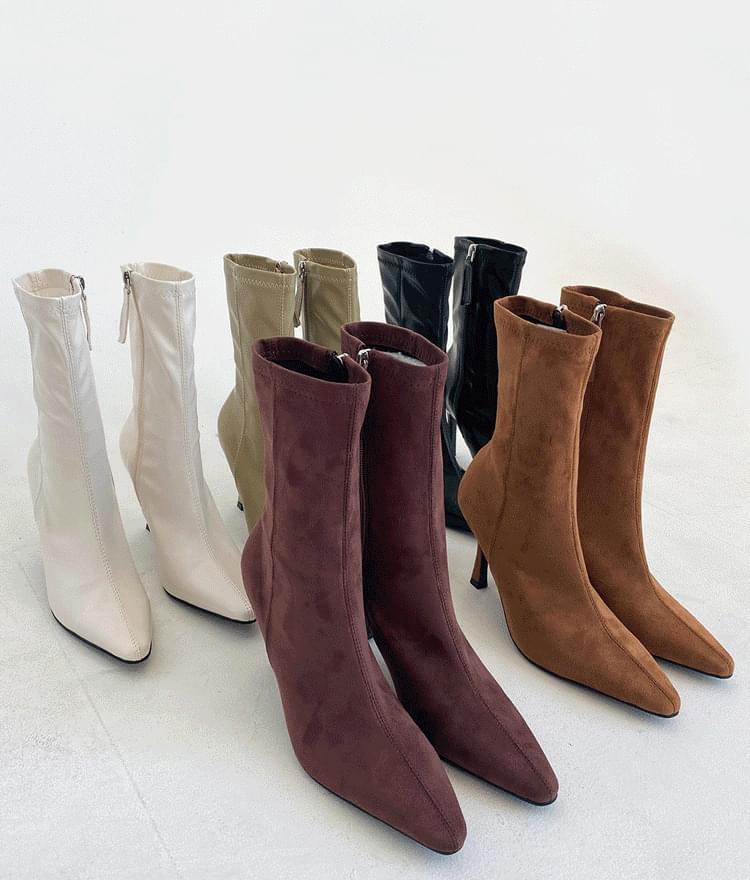 Zip-Up Sock Boots